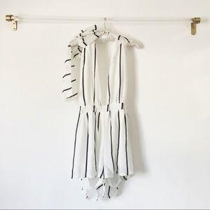 Pants - 🆕 Pinstriped Multi-Way Romper